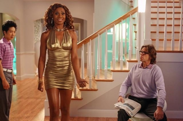 TIM JO, TOKS OLAGUNDOYE, SIMON TEMPLEMAN at Preview THE NEIGHBORS on 10/10!