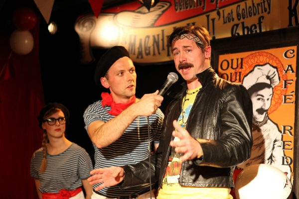 Photo Flash: First Look at Osip Theatre's CELEBRITY NIGHT AT CAFE RED