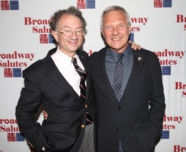 William Ivey Long & Walter Bobbie  at Hal Prince, Laura Osnes and More at BROADWAY SALUTES 2012!