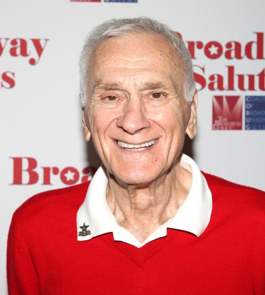 Dick Latessa  at Hal Prince, Laura Osnes and More at BROADWAY SALUTES 2012!