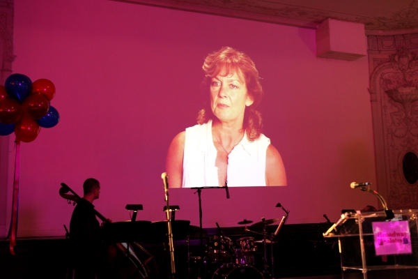 Michele Pawk  at Hal Prince, Laura Osnes and More at BROADWAY SALUTES 2012!