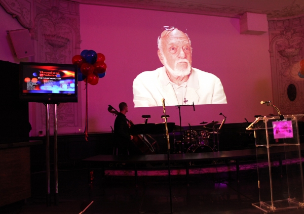Hal Prince  at Hal Prince, Laura Osnes and More at BROADWAY SALUTES 2012!
