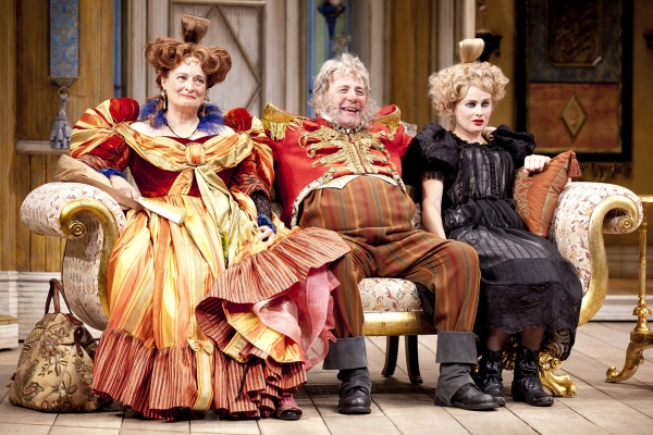 Nancy Robinette as Anna, Rick Foucheux as the Mayor and Claire Brownell as Marya
