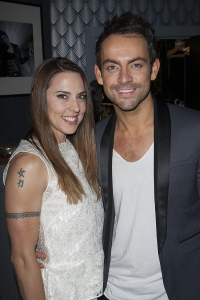 Mel C and Ben Forster