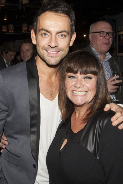 Ben Forster and Dawn French