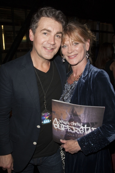 Alexander Hanson and Samantha Bond