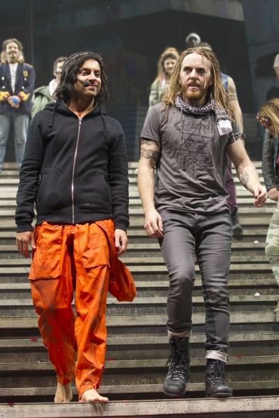 Ben Forster and Tim Minchin at JESUS CHRIST SUPERSTAR At The O2 - Production and After-Party!