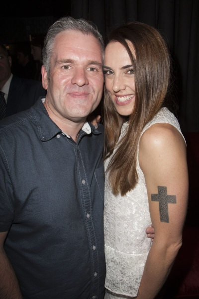 Chris Moyles and Mel C