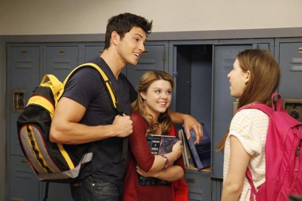 ROBERT SCOTT WILSON, BAILEY BUNTAIN, EDEN SHER at Sneak Peek at THE MIDDLE on 10/3