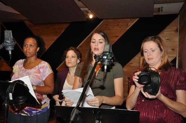 Janelle Robinson, Kathy Calahan, Elizabeth DeRosa and Kristin Carbone
