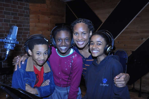 Judah Bellamy, Nia Ashleigh, Chondra Profit and Imani Dia Smith