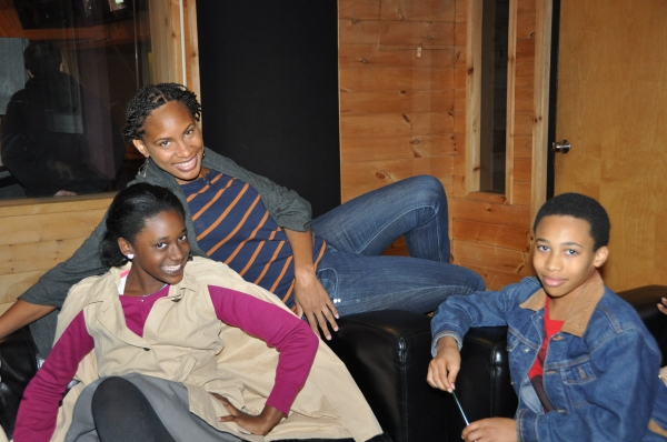 Chondra Profit with Nia Ashleigh and Judah Bellamy Photo