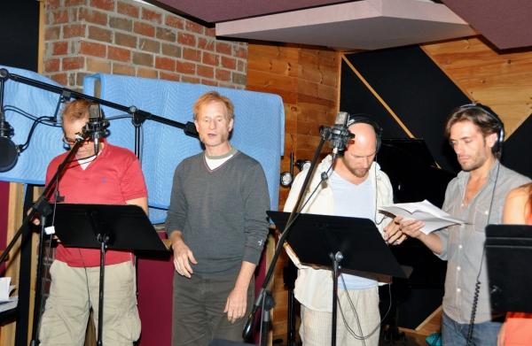Jim Walton, Nick Corley, Justin Greer and Eric Sciotto Photo
