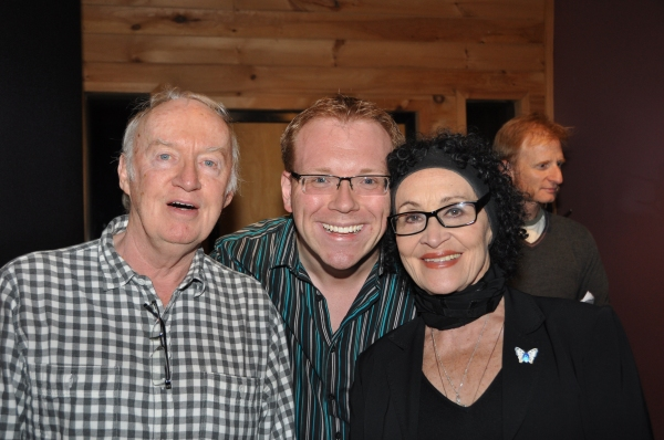 Jim Norton, Richard Rockage and Chita Rivera
