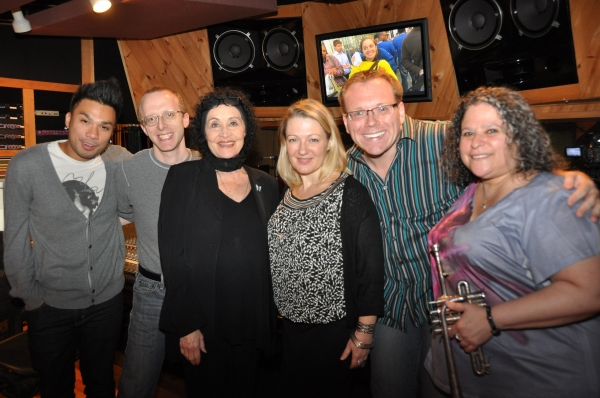 Andros Rodriguez (Engineer), Ed Goldschneider (Piano), Chita Rivera, Lynn Pinto (Producer), Richard Rockage (Musical Director) and Jami Dauber (Trumpet)