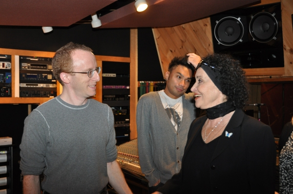 Ed Goldschneider, Andros Rodriguez and Chita Rivera