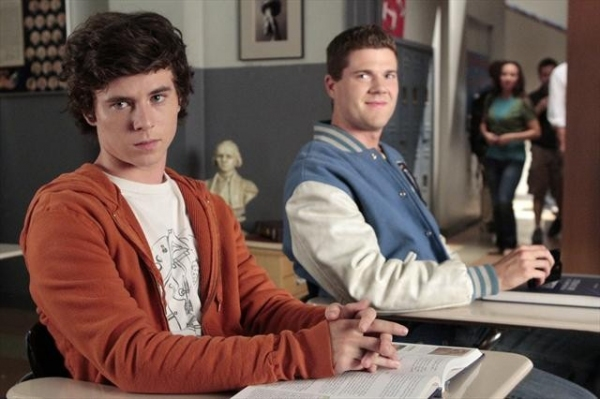 CHARLIE MCDERMOTT, BEAU WIRICK at Sneak Peak at THE MIDDLE on ABC 10/10