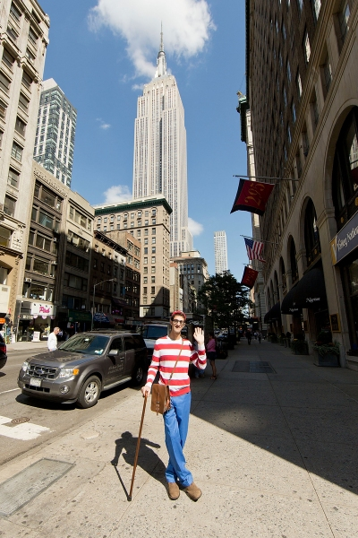 Photo Flash: Where's Waldo? Spotted at the Empire State Building