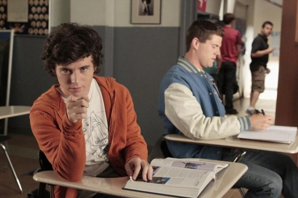 CHARLIE MCDERMOTT, BEAU WIRICK at Behind the Scenes THE MIDDLE on 10/10