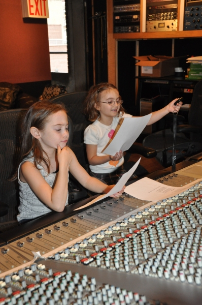 Eliza Holland Madore and Ripley Sobo at Photo Exclusive: ONCE Cast Records for 'Carols For A Cure'