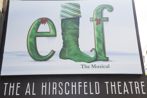 Up on the Marquee- ELF!