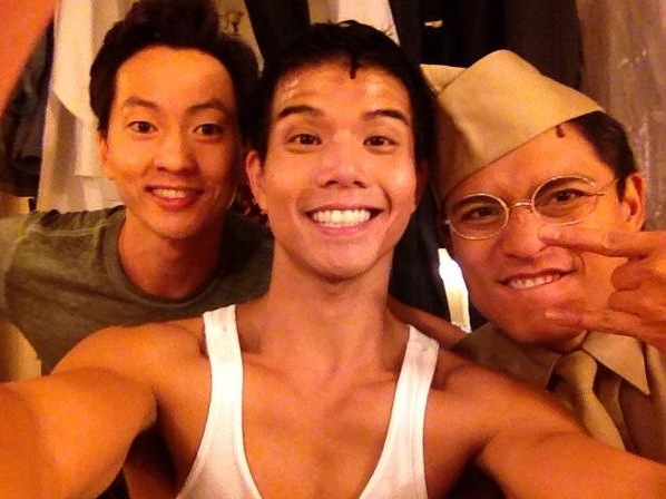Photo Flash: Saturday Intermission Pics, Sept 22 - Telly Leung's First ALLEGIANCE SIP, NEWSIES and More!