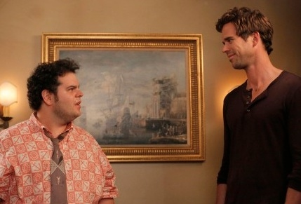 Josh Gad, David Walton at First Look - Josh Gad Guests on NEW GIRL Season Premiere, 9/25