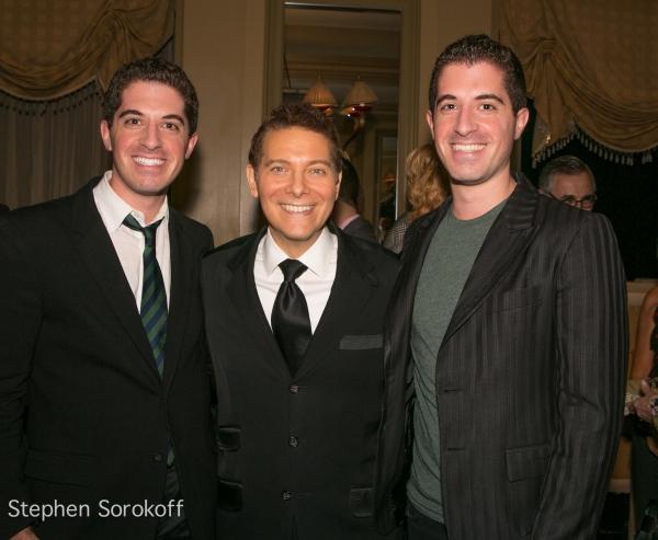 Will Nunziata, Michael Feinstein, Anthony Nunziata at Closing Night with Marilyn Maye and Michael Feinstein