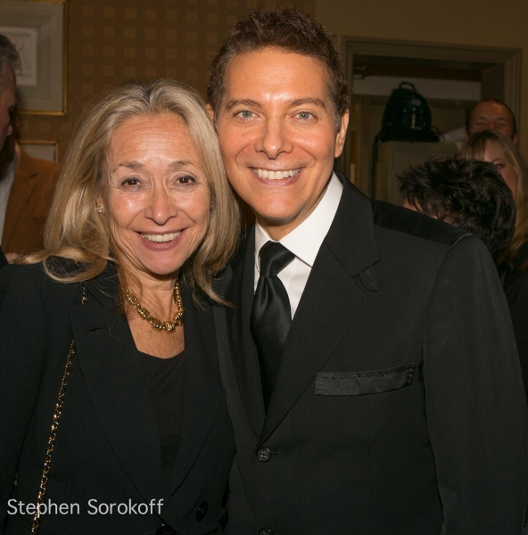 Eda Sorokoff & Michael Feinstein at Closing Night with Marilyn Maye and Michael Feinstein
