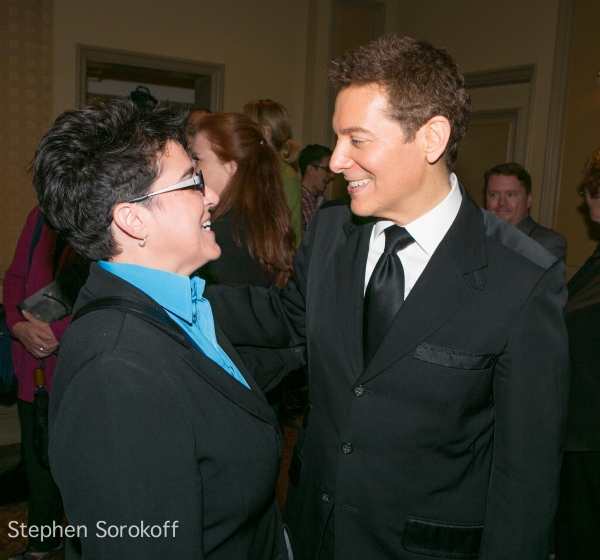 Terese Genecco & Michael Feinstein at Closing Night with Marilyn Maye and Michael Feinstein