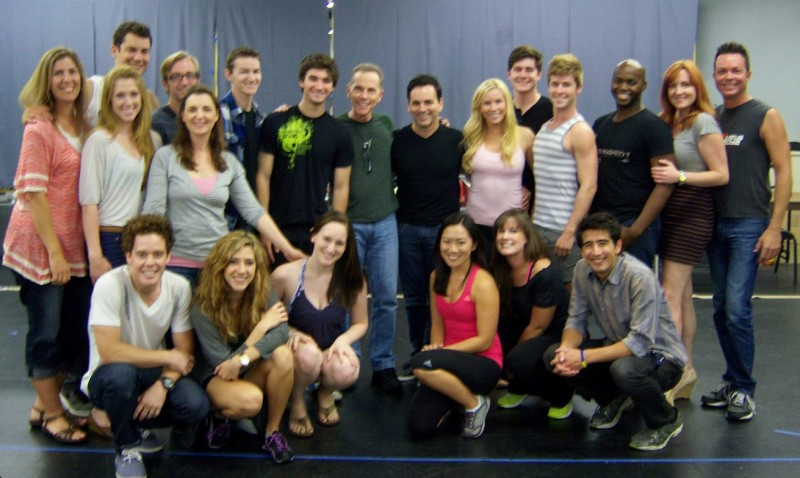 Dean Pitchford Meets Cast of San Diego Musical Theatre's FOOTLOOSE, Opening 9/29
