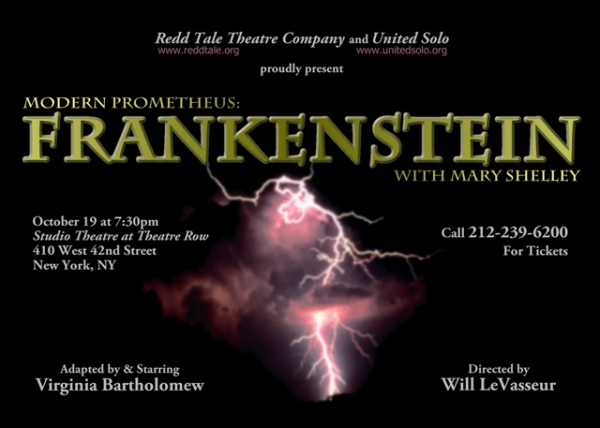 MODERN PROMETHEUS: FRANKENSTEIN WITH MARY SHELLEY Artwork Photo
