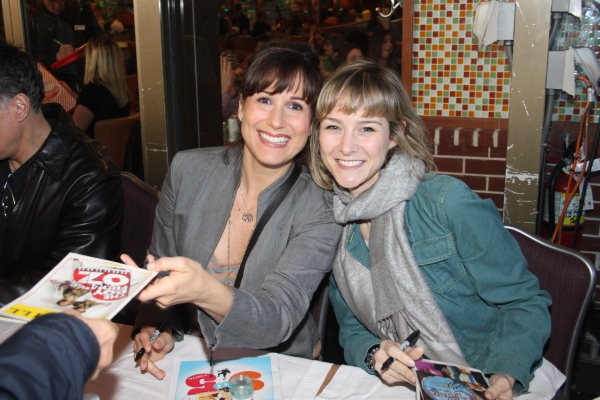 Stephanie J. Block and Jill Paice  at 2012 BC/EFA Flea Market Celebrity Tables Part One