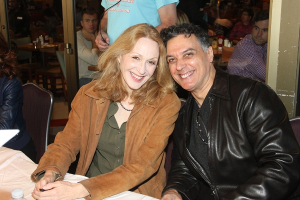 Jan Maxwell and Robert Cuccioli  at 2012 BC/EFA Flea Market Celebrity Tables Part One