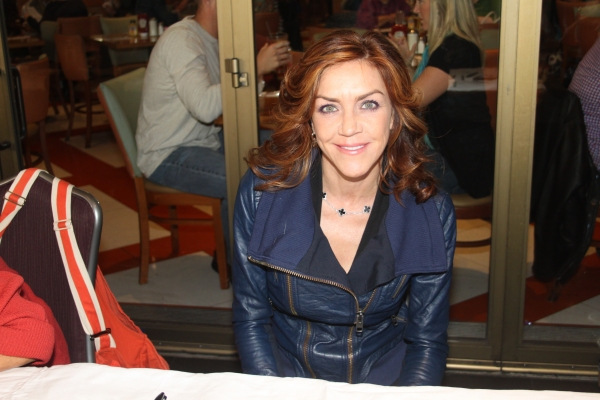 Andrea McArdle at 2012 BC/EFA Flea Market Celebrity Tables Part One