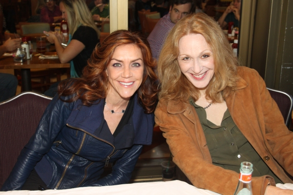 Andrea McArdle and Jan Maxwell  at 2012 BC/EFA Flea Market Celebrity Tables Part One