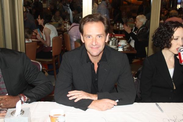 Malcolm Gets  at 2012 BC/EFA Flea Market Celebrity Tables Part One