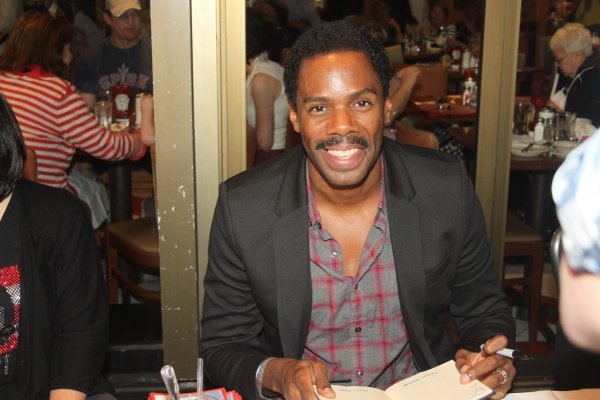 Colman Domingo  at 2012 BC/EFA Flea Market Celebrity Tables Part One