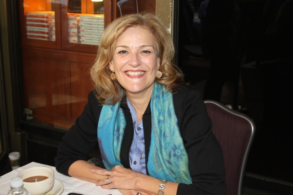 Karen Mason at 2012 BC/EFA Flea Market Celebrity Tables Part One