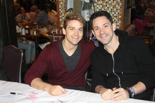 Neil Haskell and Steve Kazee