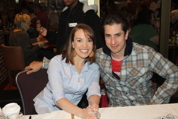 Kara Lindsay and Matthew Saldivar  at 2012 BC/EFA Flea Market Celebrity Tables Part One