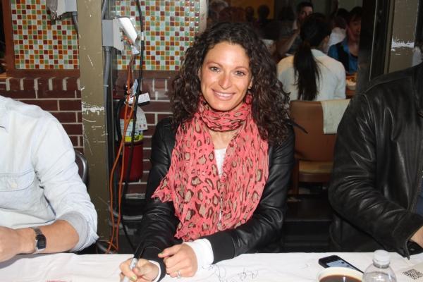 Jackie Burns  at 2012 BC/EFA Flea Market Celebrity Tables Part Two