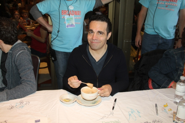 Mario Cantone  at 2012 BC/EFA Flea Market Celebrity Tables Part Two