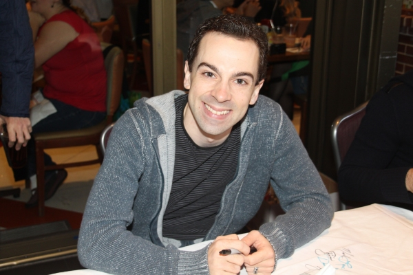 Rob McClure at 2012 BC/EFA Flea Market Celebrity Tables Part Two