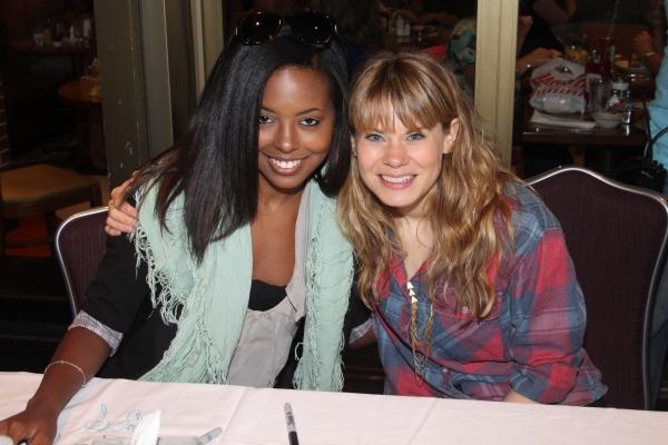 Adrienne Warren and Celia Keenan-Bolger