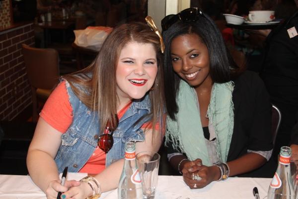Ryann Redmond and Adrienne Warren