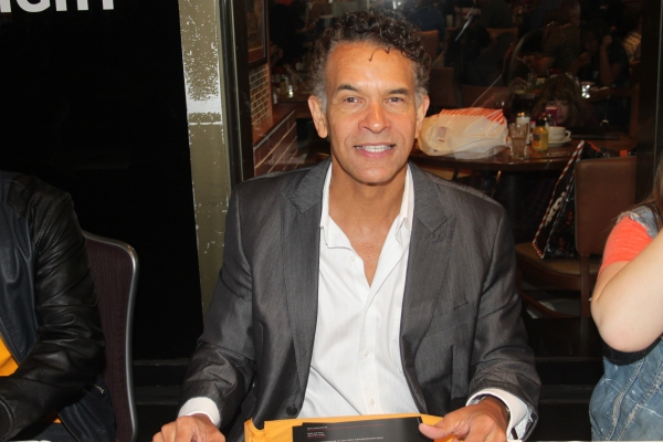 Brian Stokes Mitchell  at 2012 BC/EFA Flea Market Celebrity Tables Part Two