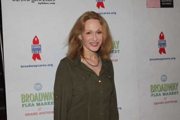 Jan Maxwell  at 2012 BC/EFA Flea Market - Celebrities Backstage