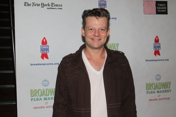 Jeremy Kushnier  at 2012 BC/EFA Flea Market - Celebrities Backstage