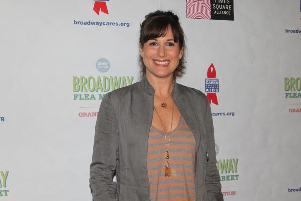 Stephanie J. Block  at 2012 BC/EFA Flea Market - Celebrities Backstage